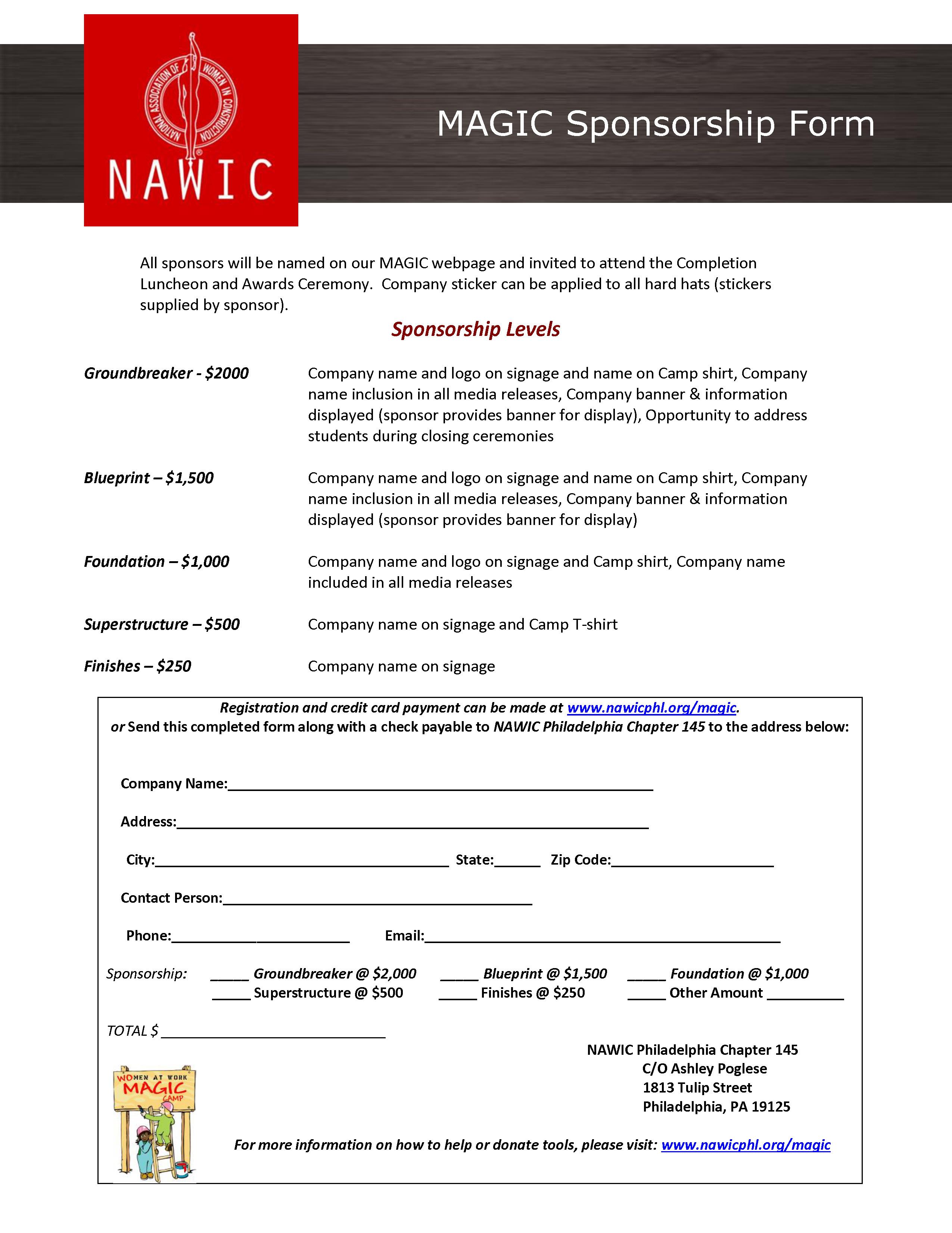 Nawic philadelphia pa chapter 145 magic camp sponsorship registration malvernweather Choice Image